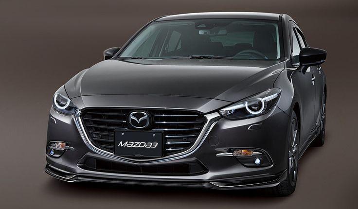 Aero Kit Jet Black - Front Air Dam | Mazda 3 & 3 Sport (2017)