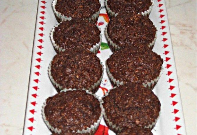 Zabpelyhes kókuszos muffin