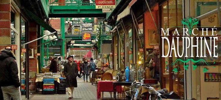 Dauphine est l'un des plus grands marchés des Puces de Saint Ouen, où vous trouverez une sélection de meubles et objets très haut de gamme XVII , XVIIIè ainsi que de nombreux objets de charme et d'art du XIX et XXè siècle.
