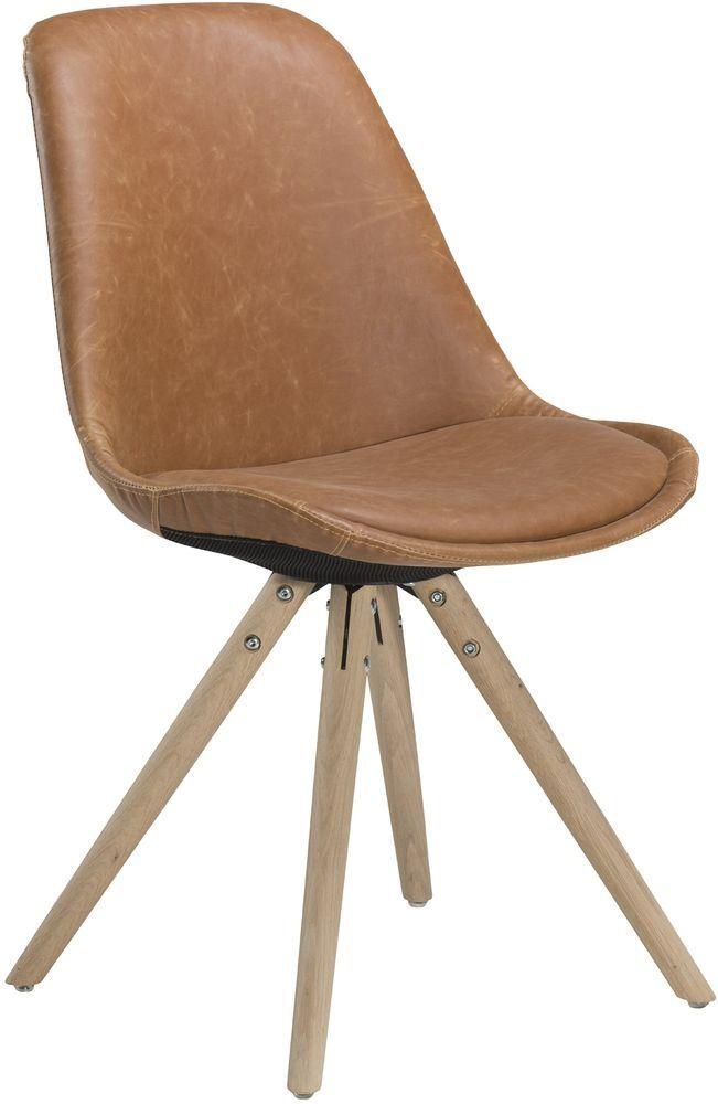 Orso stol - Ljusbrun konstl�der - 1995kr - Trendrum.se