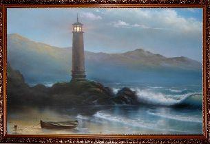 Маяк - Морской пейзаж <- Картины маслом <- Картины - Каталог | Универсальный интернет-магазин подарков и сувениров