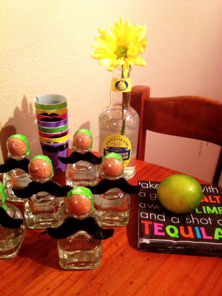 Mexican party: Tequila party favors | Party Theme Tequila ...