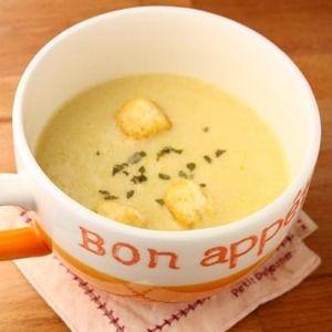 「簡単!濃厚♪コーンクリームスープ」+by+ATSUKO+KANZAKI+(a-ko)さん+|+レシピブログ+-+料理ブログのレシピ満載! シンプルだけど、濃厚で甘くて美味しい~☆ 息子が大好きなコーンスープ。朝食にも◎