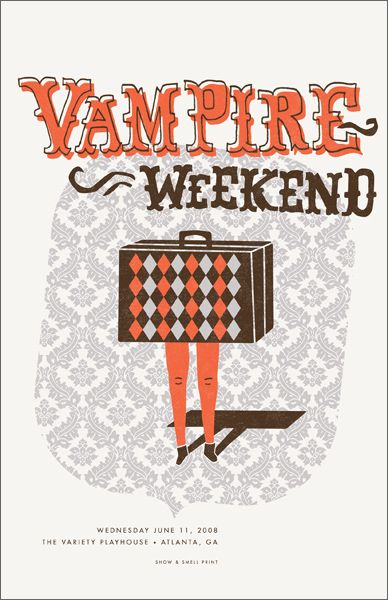 GigPosters.com - Vampire Weekend