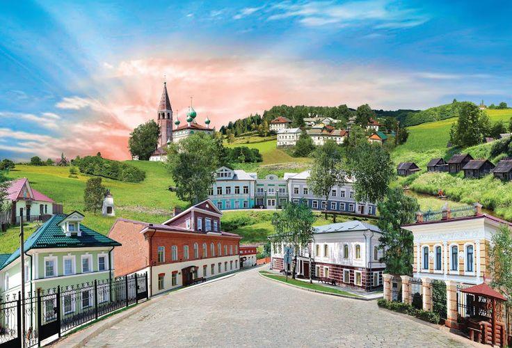 Самое красивое село России #Вятское