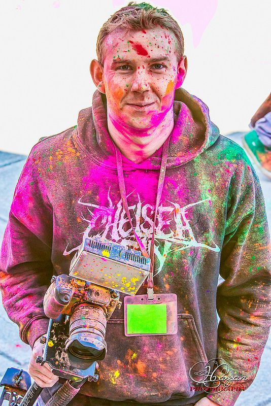Holi festival,Would you let this happen to your camera?