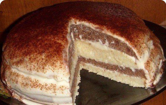 Девочки))) урааа... нашла простой рецепт очень нежного и вкусного тортика на кефире!   Школа шеф-повара