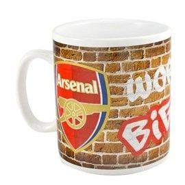 Arsenal Giant Mug, is in our Arsenal Soccer Souvenir range.  http://www.soccerbox.com/arsenal-football-shirts/arsenalsouvenirs/