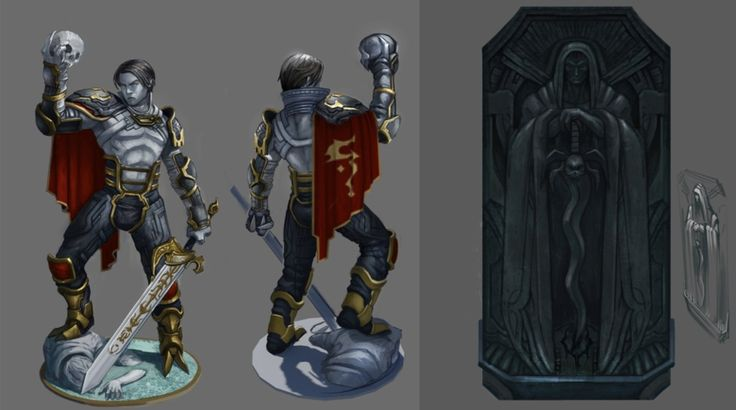 Nosgoth artwork reveals Clan Razielim's Vampire Underground City, Lieutenant Raziel's statue and more