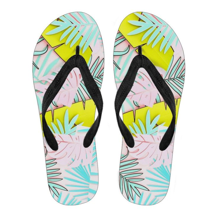 flip flops tropical pastel – Enéaworld