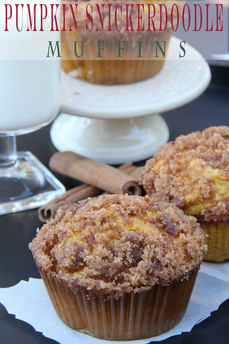 Pumpkin Snickerdoodle Muffins and Bread - Oh my gosh these are truly amazing!