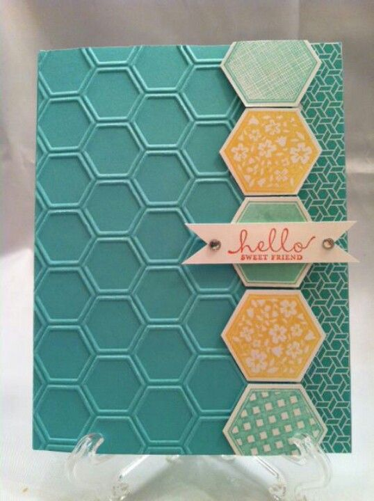 Honeycomb CTMH stamp