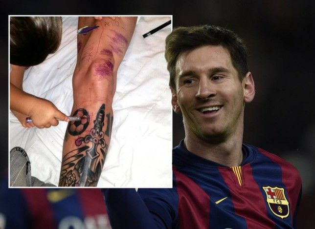 Messi leg sleeve