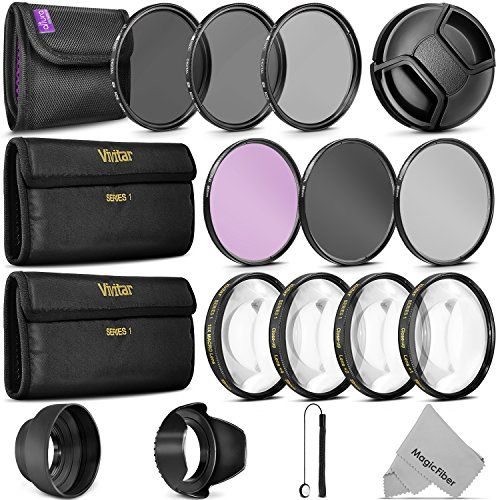 58MM Complete Lens Filter Accessory Kit for CANON EOS Rebel T6i T6 T5i T5 T4i T3i SL1 DSLR Camera - http://allcamerasportal.com/58mm-complete-lens-filter-accessory-kit-canon-eos-rebel-t6i-t6-t5i-t5-t4i-t3i-sl1-dslr-camera/