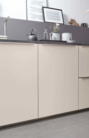 13 best Handleless Kitchen - Wood Pore Lava and Touch Magnolia - nolte küchen griffe