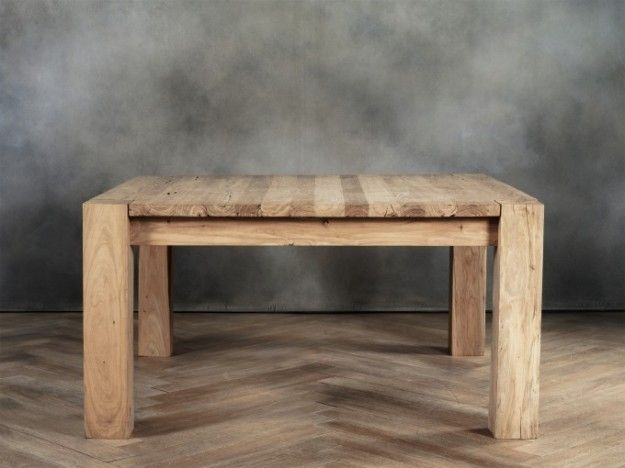 Tavoli in legno grezzo tavolo corner cargo milano for Cargo milano arredamento