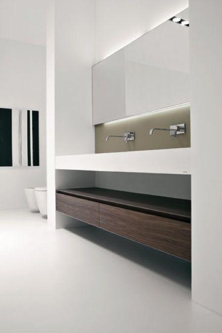Vanity Unit with under counter storage