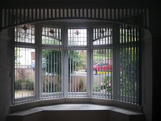 Blindology Blinds of Plymouth curved vertical window blinds for bay windows