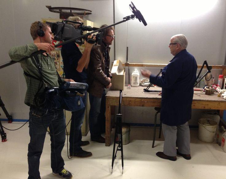 Oudste medewerker Nederland op tv