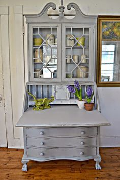 Painted Desks best 25+ painted secretary desks ideas on pinterest | secretary