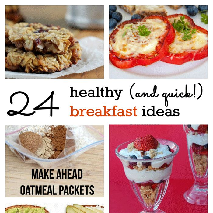 Are weekday morningsas hecticin your house as they are in ours?Now that we're no longer homeschooling, 2 of my kids have to be at the bus stop by 6:50 am. But I am not going to let an early morning sabotage our need forahealthy breakfast. We've collected 24 different healthy breakfast id…
