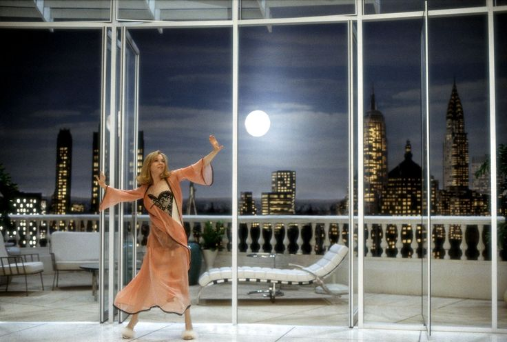 Iconic film homes we'd like to live in-View of The New York City Skyline.