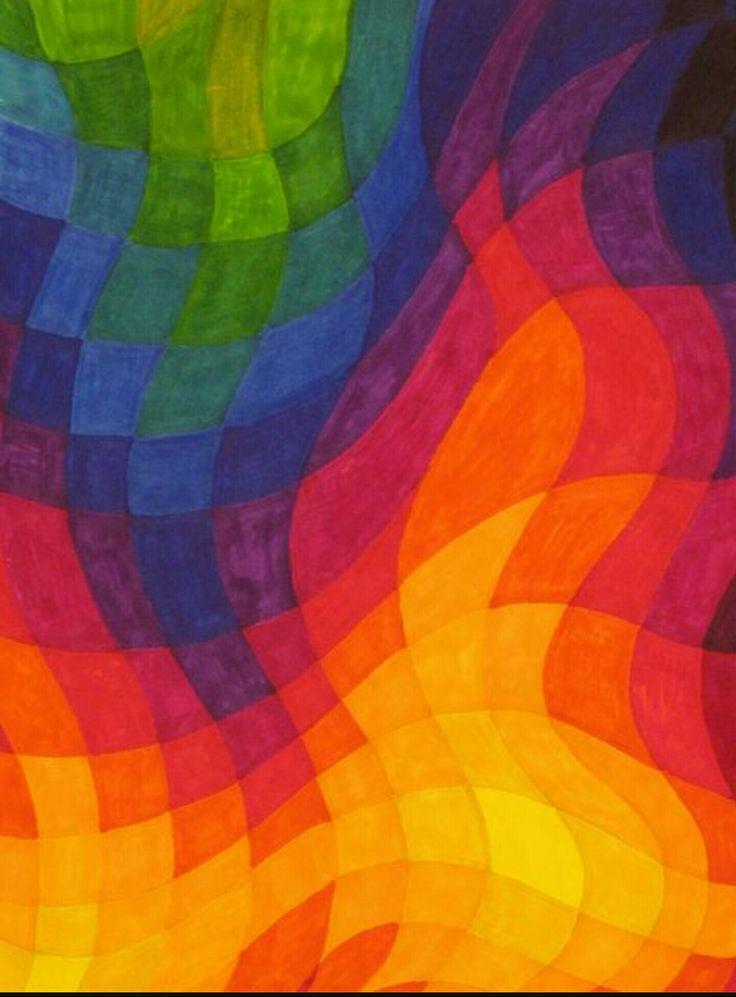 25 beste idee n over warme kleuren op pinterest warme kleuren warme kleur paletten en - Warme en koude kleuren in verf ...