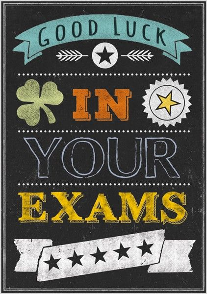 Good Luck On Your Exam Quotes: 24 Best Good Luck For Exams Images On Pinterest