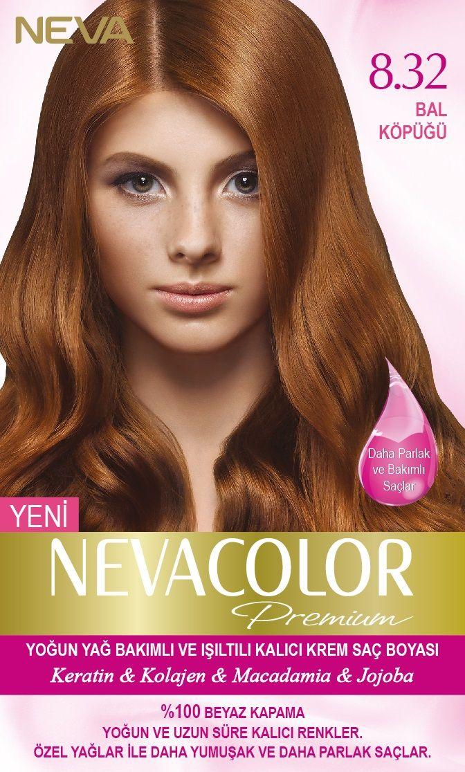 Nevacolor Premium Kalici Krem Sac Boyasi Seti 8 32 Bal Kopugu