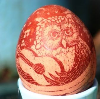 onion dyed eggs - Google Search