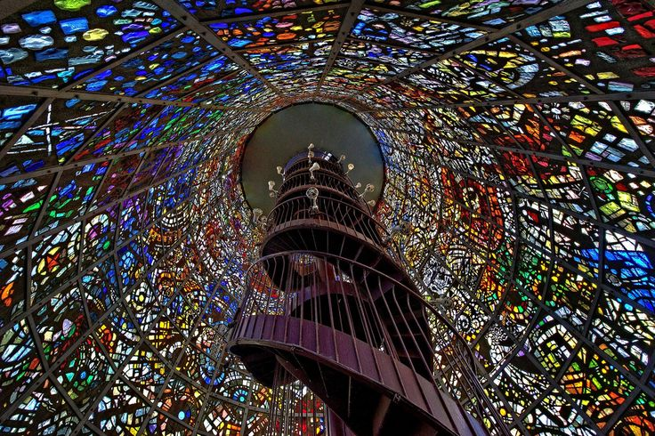 AFAR.com Highlight: Prismatic Piston by Jon  Sheer - Hakone Open Air Museum 1121 箱根町二ノ平 Ashigarashimo District, Kanagawa Prefecture, Japan