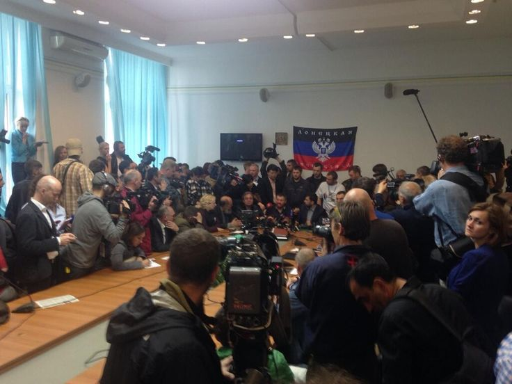 Donetsk People's Republic leaders vow to go ahead with referendum on May 11 pic.twitter.com/k51Qmm8czT