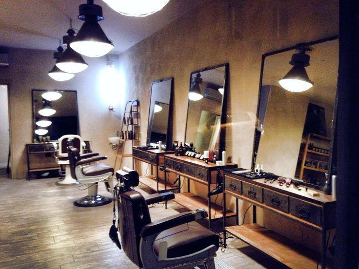 67 best men 39 s salons images on pinterest barber salon for The barbershop a hair salon for men