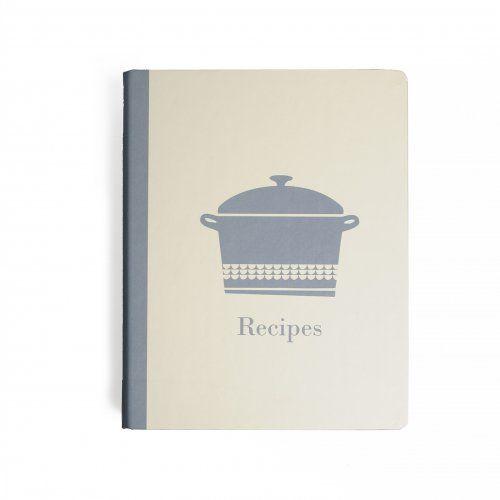 Carnet de cuisine, bleu, 'Casserole'