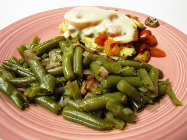 Southern Green Beans & Bacon | Recipe