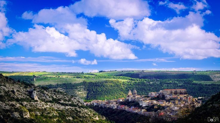 Ragusa Ibla view by Davide Salonia on 500px