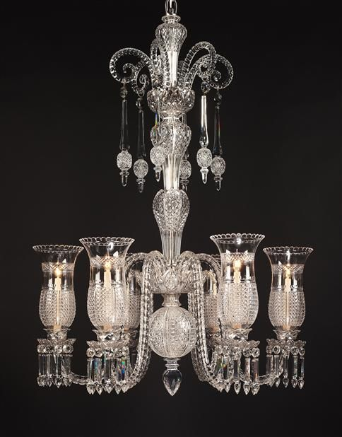 An Important Mid Victorian Cut Glass Chandelier By F C Osler