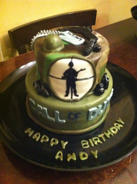 Cod Zombie Cake Ideas 74551 Call Of Duty Cake Bday Party I