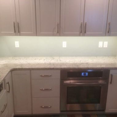 Colonial White Granite - traditional - kitchen - grand rapids - S3 Enterprise Group