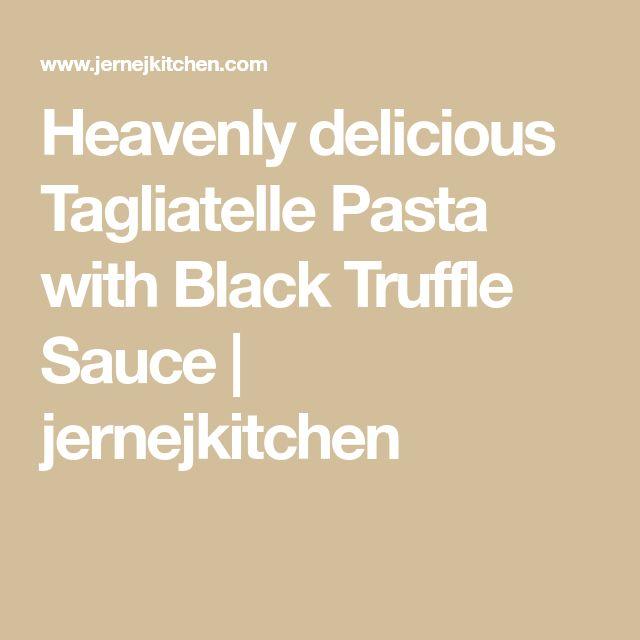 Best 25+ Truffle Sauce Ideas On Pinterest