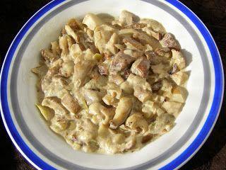 W Mojej Kuchni Lubię.. : prawdziwki w sosie śmietanowym...