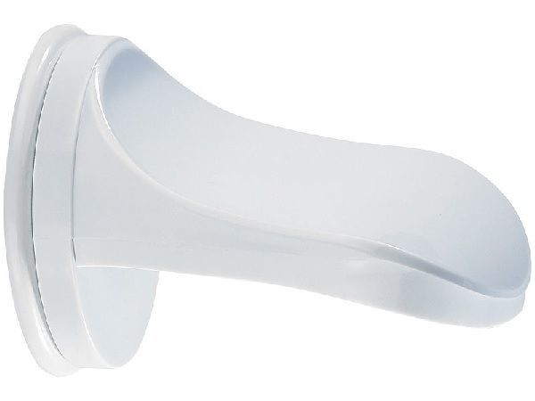 Fußstütze mit Saugnapf für Bad & Dusche Fußpflege Enthaarung Beinrasur Pediküre