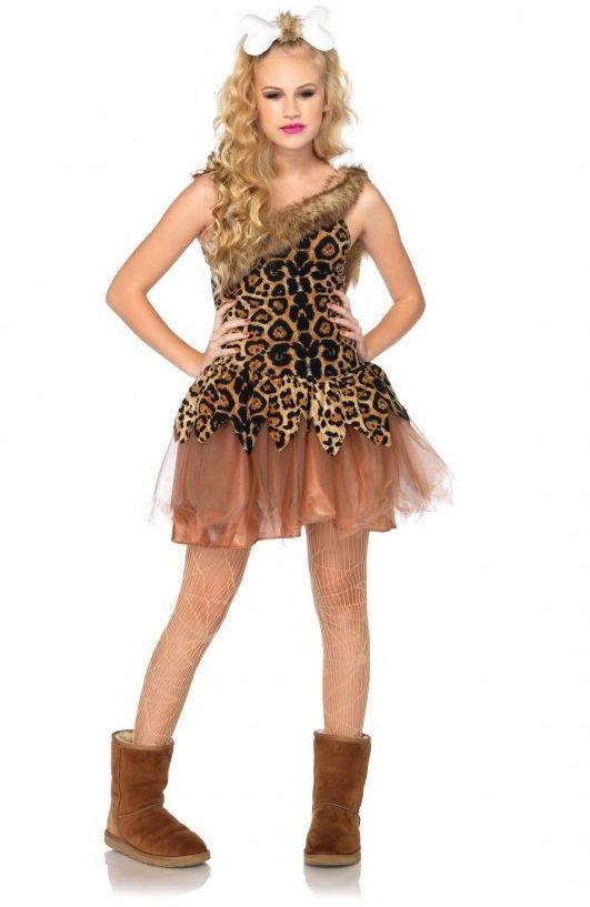 Cave Girl Cutie Teen Costume