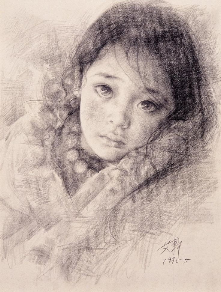 Portrait of a Tibetan Girl IV by Aixuan.deviantart.com on @deviantART