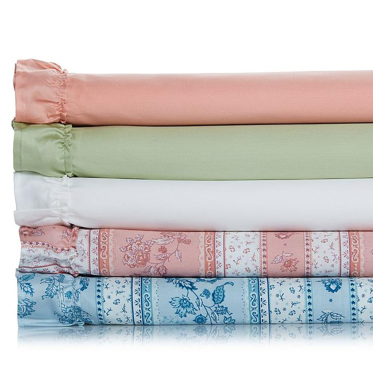 Madcap Cottage Summer in Provence 100% Cotton Sheet Set - Bluestripedfloral - California King