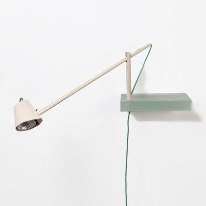 Shelve + Lamp By Roel Huisman