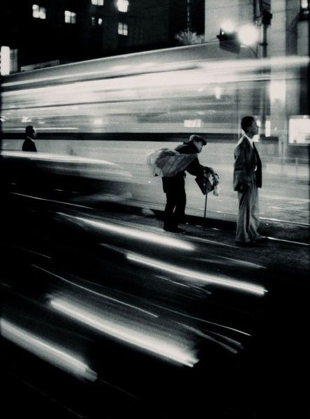 Train Station, Japan by W. Eugene Smith. 1961 Time passes in the blink of an eye - hold to the moments you can cherish..