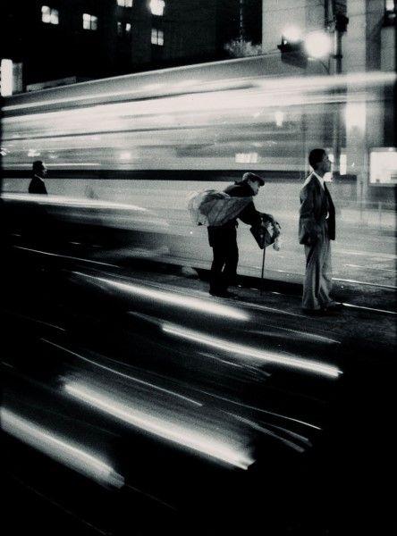 Train Station, Japan by W. Eugene Smith. 1961