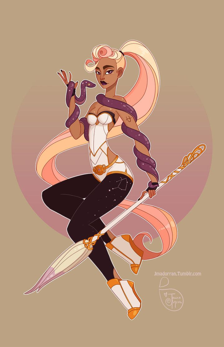 Character Design - Ophiuchus by MeoMai