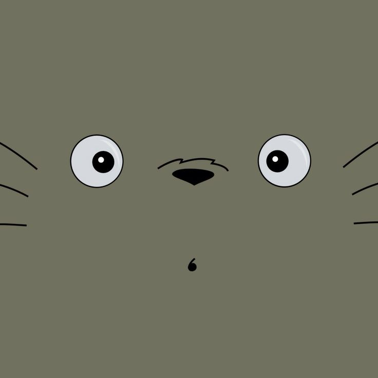 Totoro!   Iphone wallpaper totoro, My neighbor totoro ...